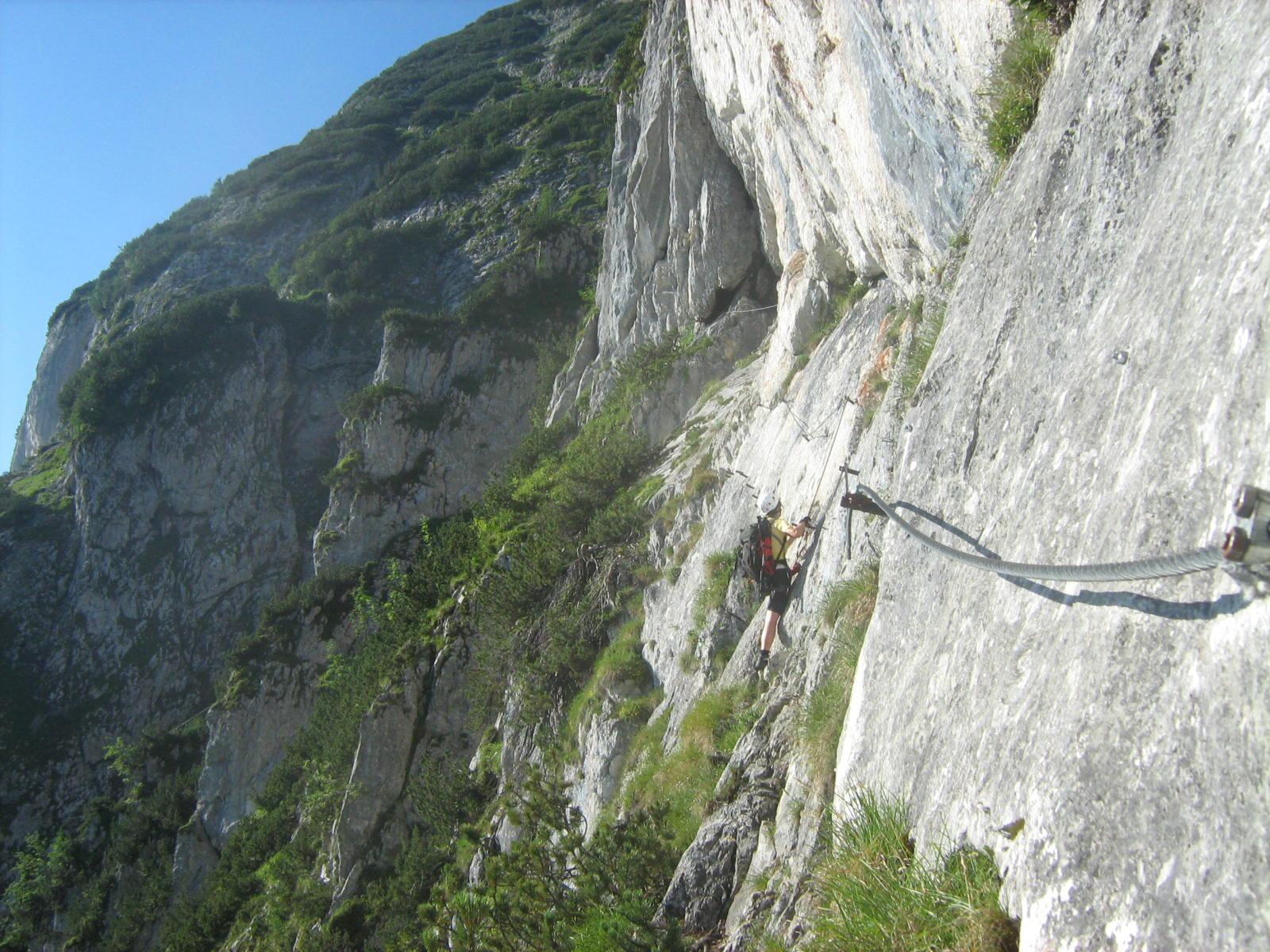 Klettersteig Wachau : Großer donnerkogel m intersport klettersteig d mein erster