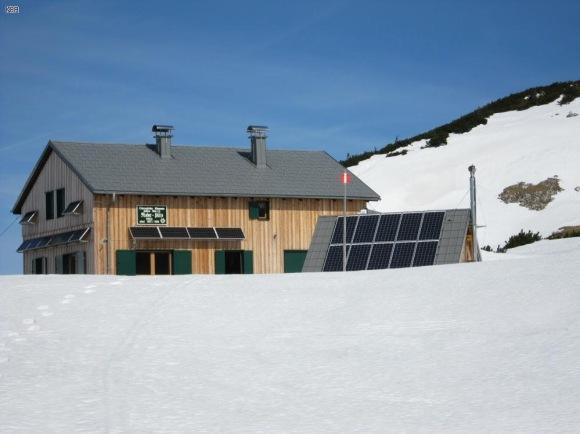 Riederhütte zum zweiten, eine Wintertour bei Frühlingshaften Temperaturen