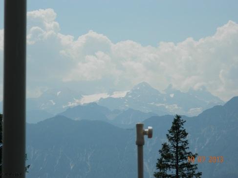 Blick zu Dachstein Massiv