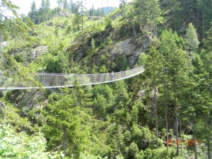 die Hängebrücke